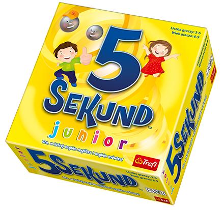 5 sekund Junior Gra planszowa