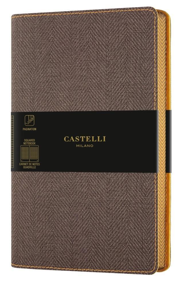 Notatnik 13x21cm kratka Castelli Harris Brown