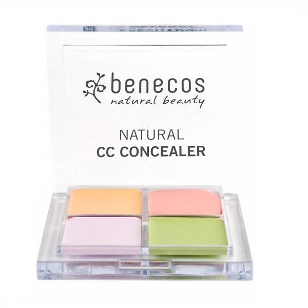 BENECOS_Natural CC Concealer korektor kryjący niedoskonałości skóry 4 kolory