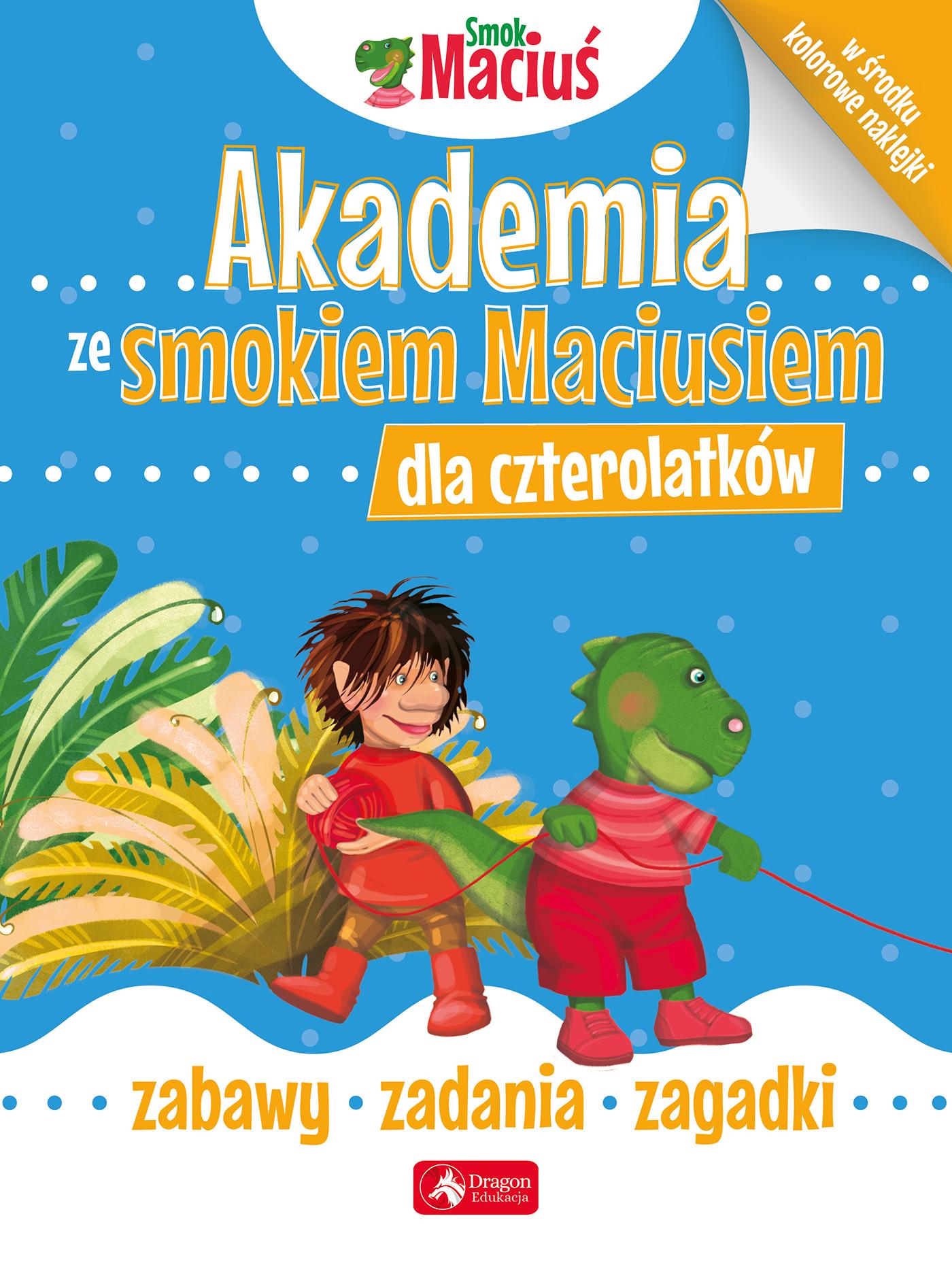Akademia ze smokiem Maciusiem dla czterolatków