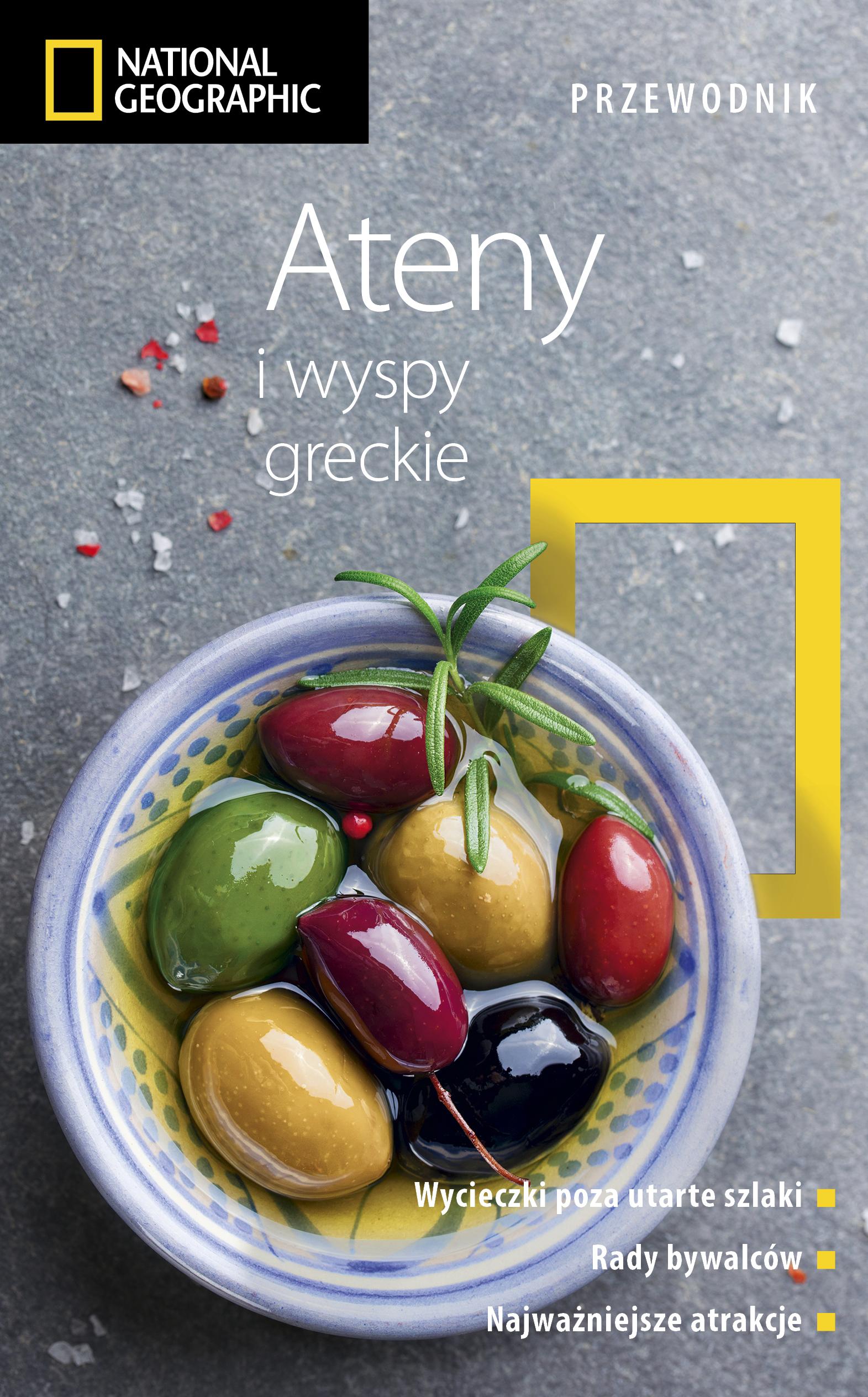 Ateny i wyspy greckie. Przewodnik National Geographic