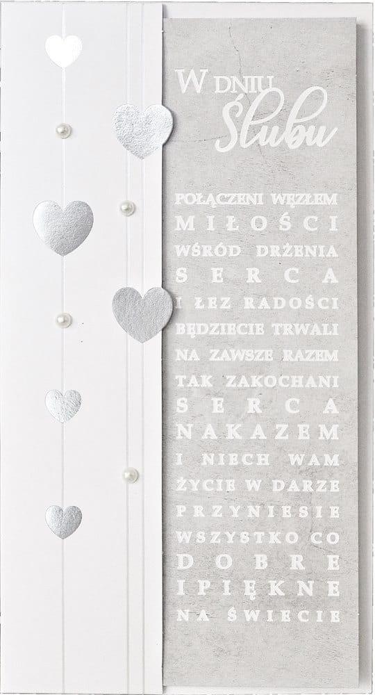 Karnet PM-156 Ślub