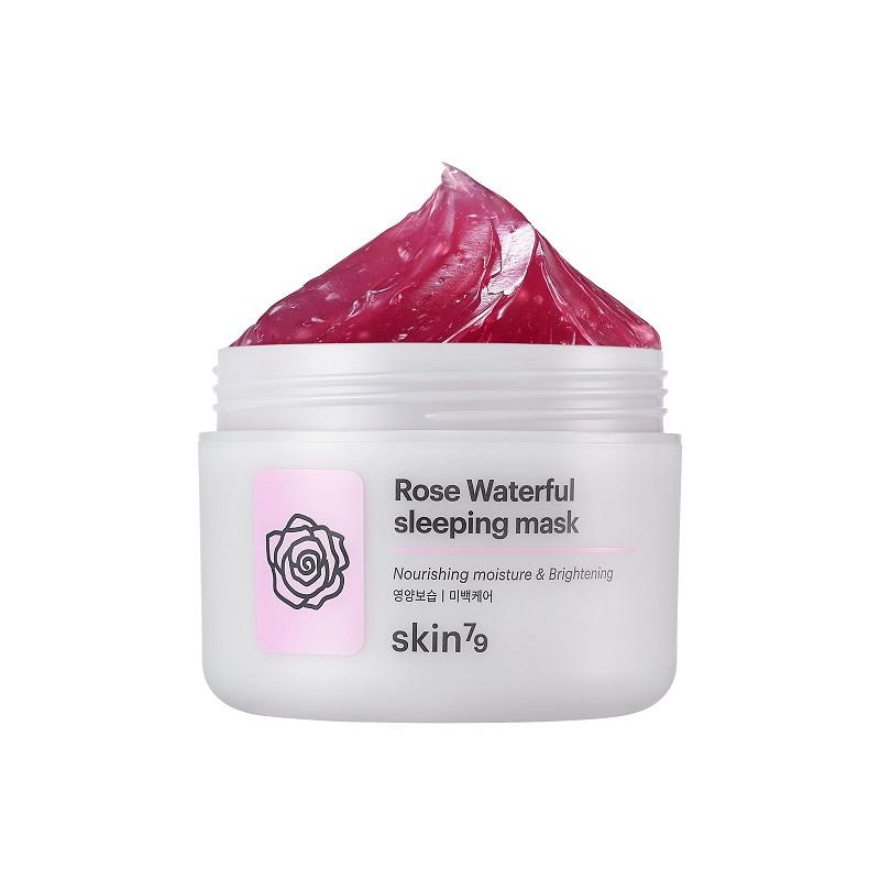 Rose Waterfull Sleeping Mask maska rozjaśniająco-złuszczająca całonocna