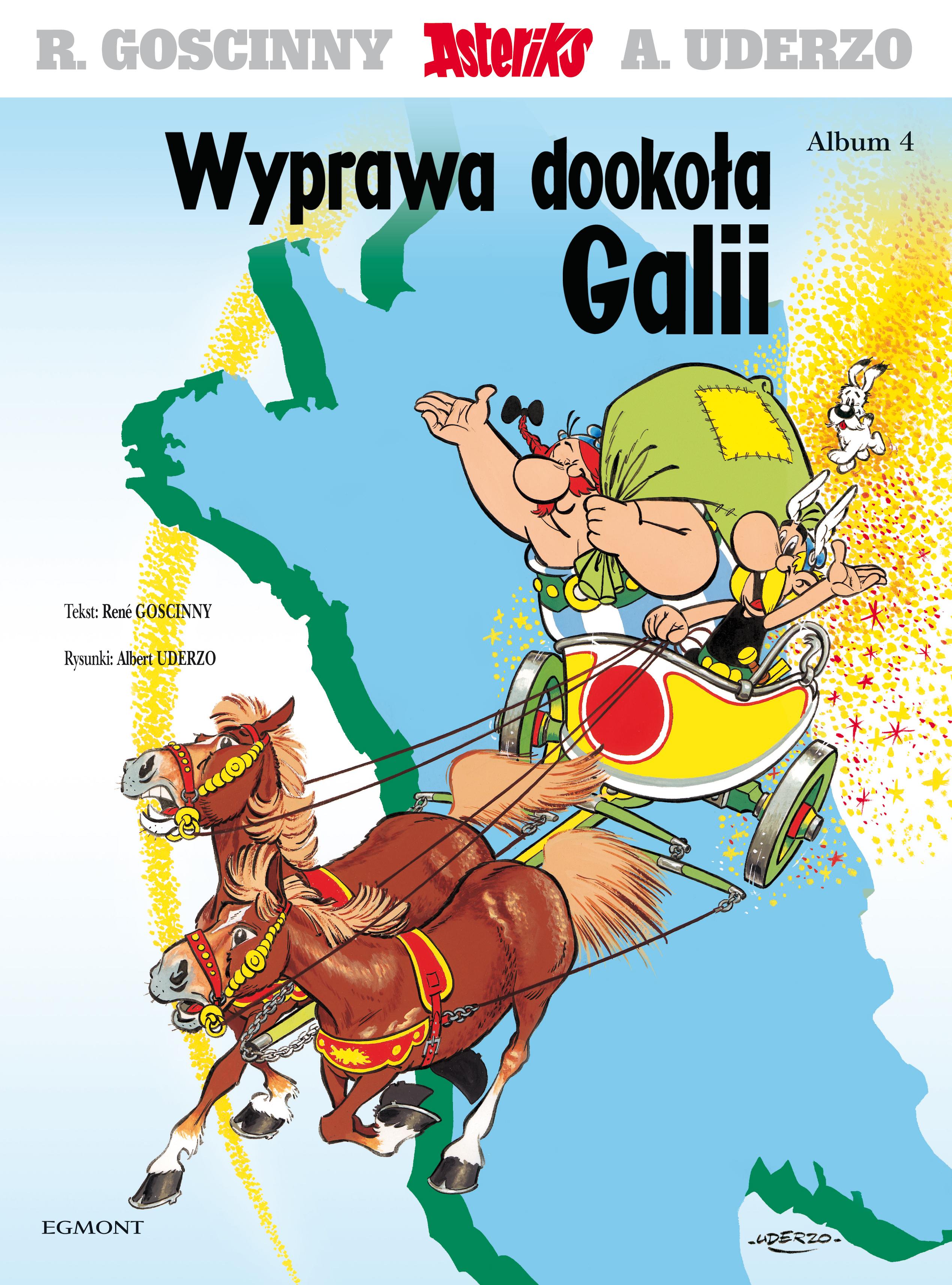 Wyprawa dookoła Galii. Asteriks. Album 4