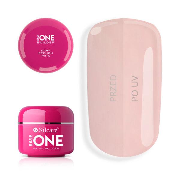 Budujący żel do paznokci One Dark French Pink