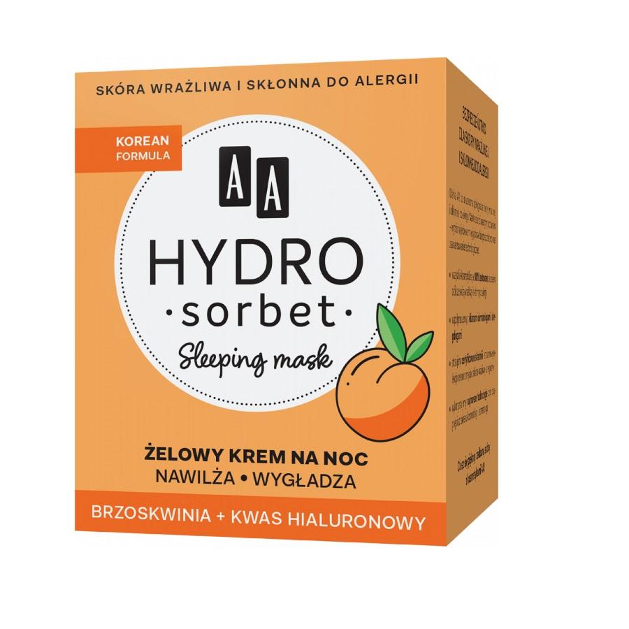 Hydro Sorbet Korean Formula Sleeping Mask żelowy krem na noc