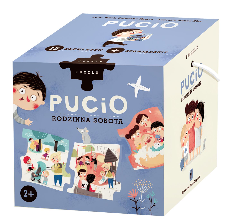 Puzzle Pucio. Rodzinna sobota