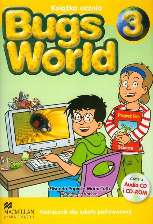 Bugs World 3 SB MACMILLAN