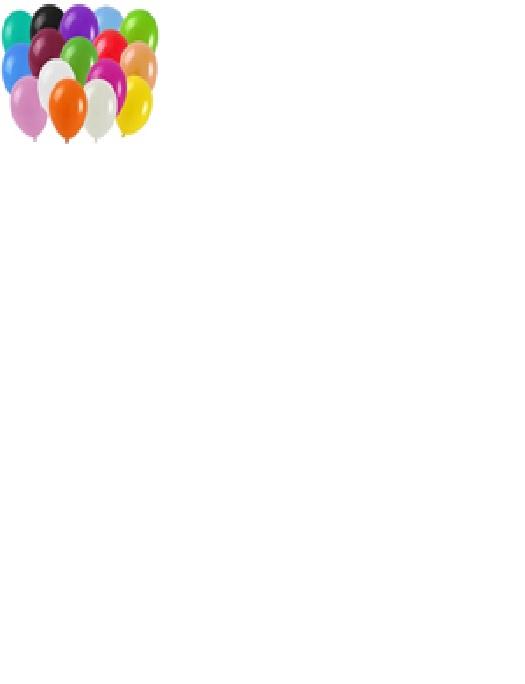 Balon pastelowy BLR110