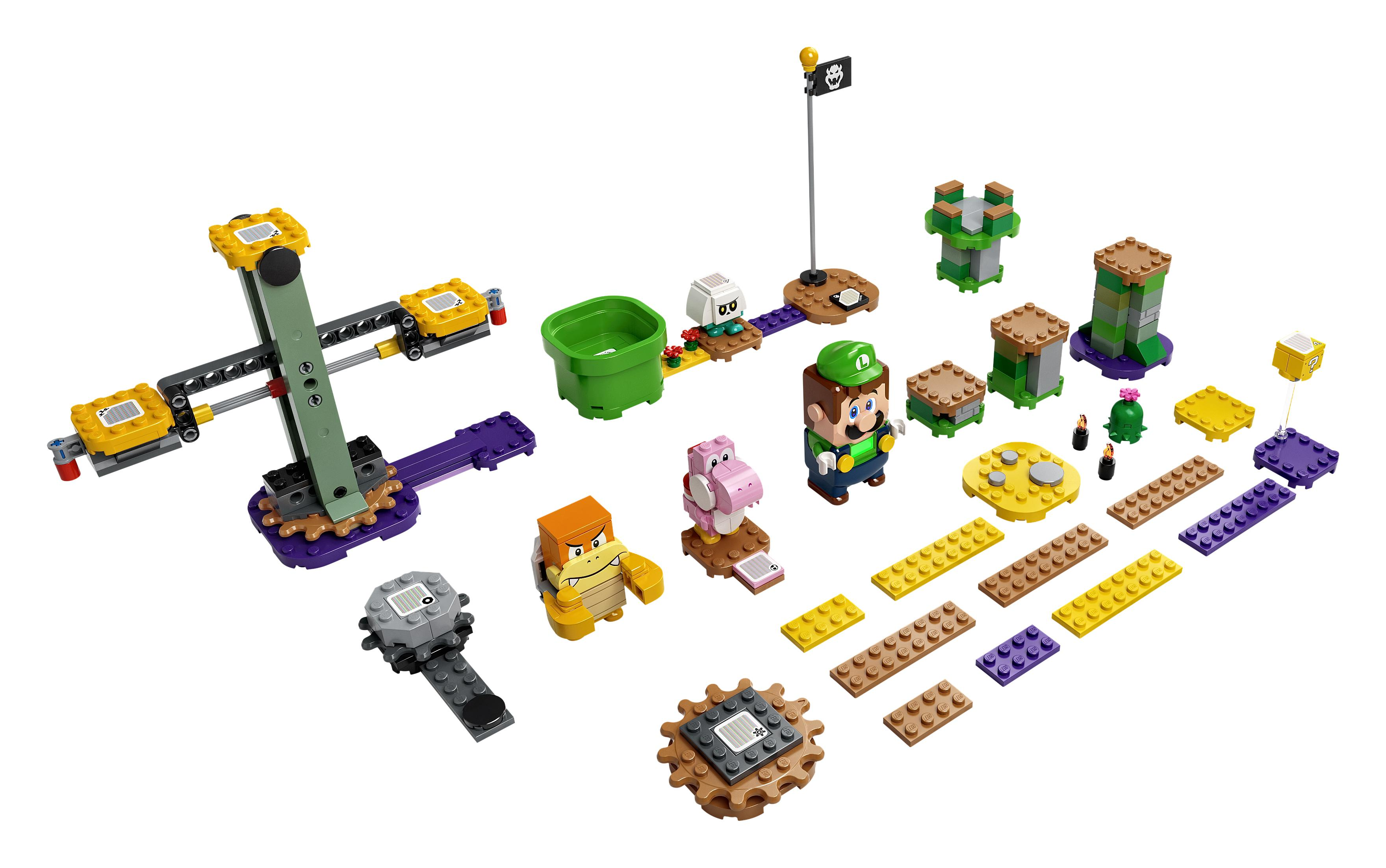 Przygody z Luigim - zestaw startowy 71387