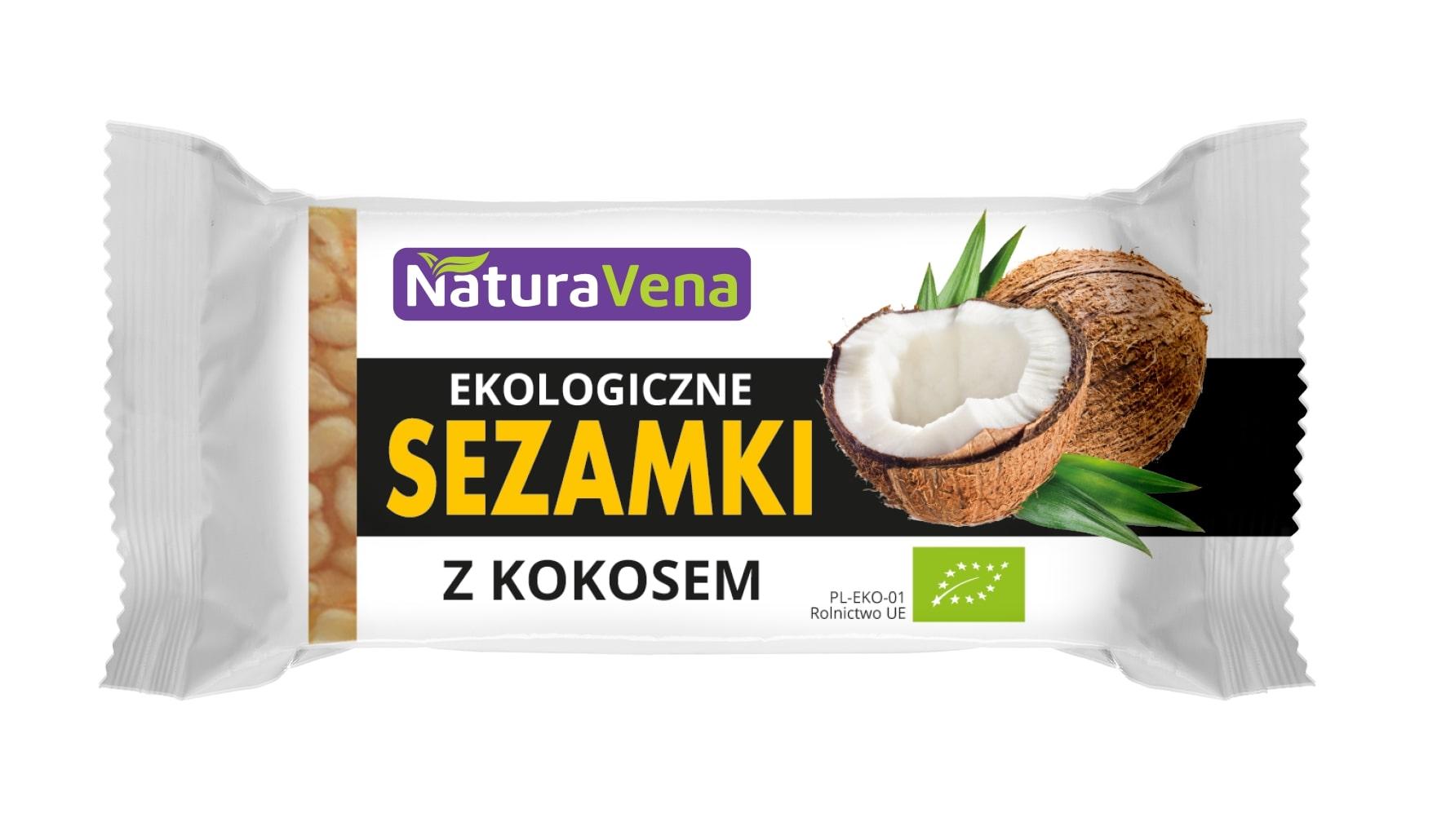 Sezamki z kokosem