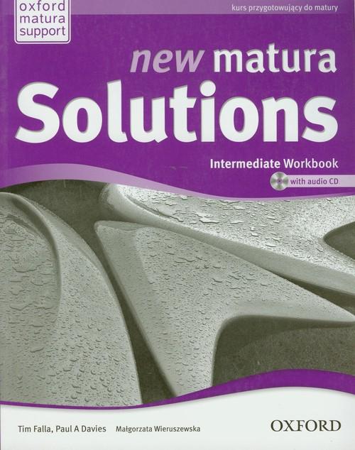 Matura Solutions New Intermediate WB+CD