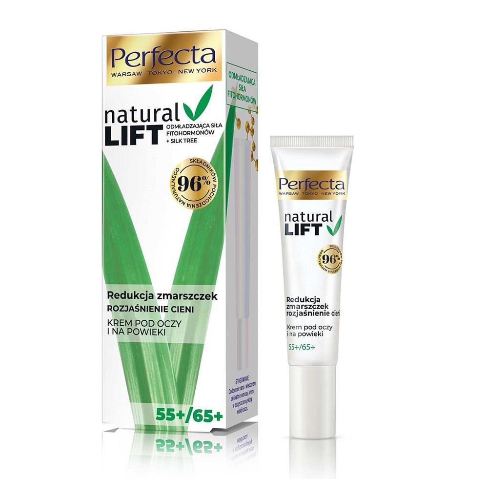 Natural Lift 55+/65+ krem pod oczy i na powieki