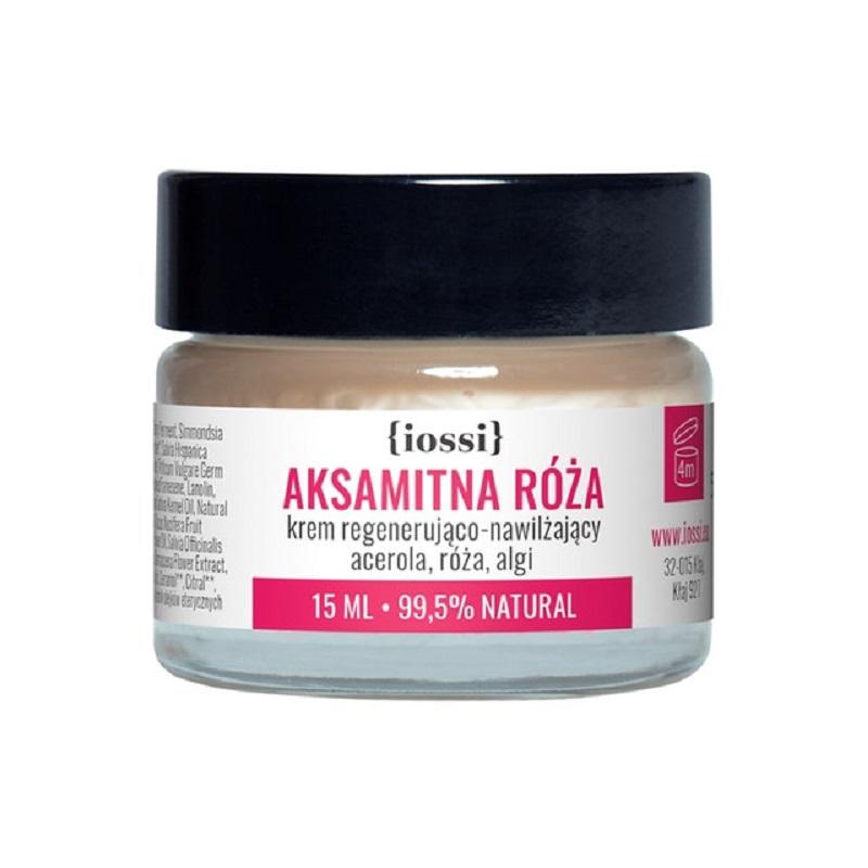 Aksamitna Róża krem do twarzy regenerująco nawilżający acerola, róża, algi