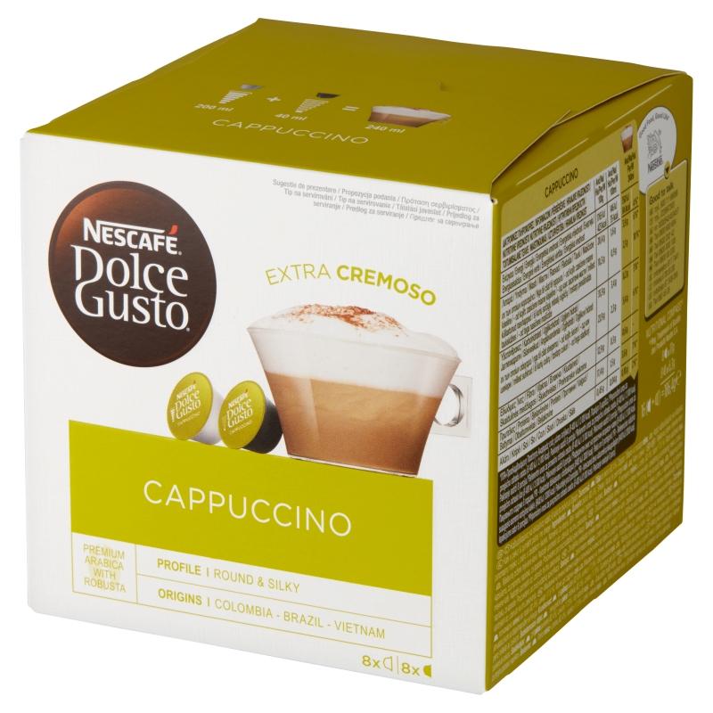 Dolce Gusto Cappuccino Kawa w kapsułkach