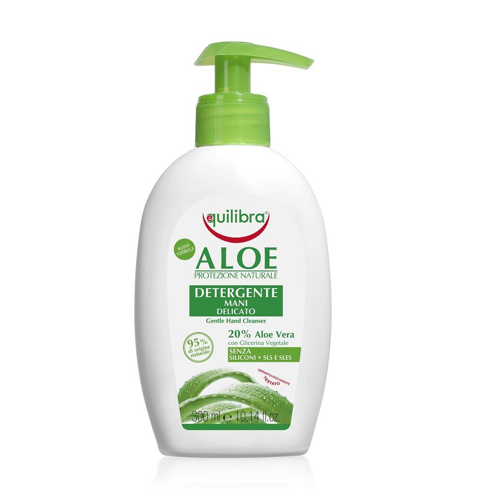 Aloe Detergente Mani Viso aloesowy żel oczyszczający do twarzy i rąk Aloe Vera