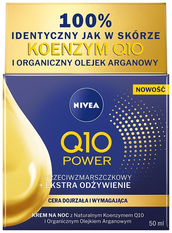 Przeciwzmarszczkowy Q10 Power + ekstra odżywienie krem do twarzy