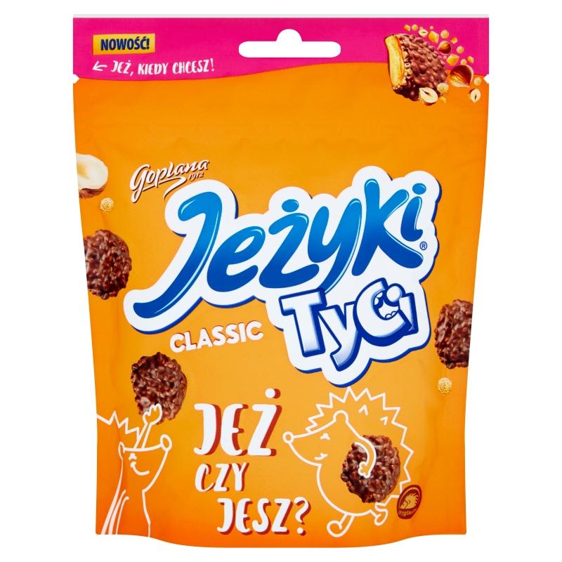 Jeżyki Tyci Classic Herbatniki w czekoladzie mlecznej