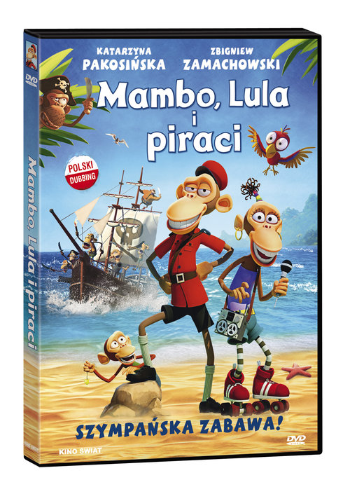 Mambo, Lula i piraci DVD