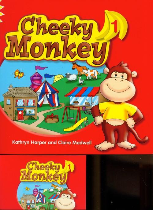 Cheeky Monkey 1 SB z Songs CD MACMILLAN