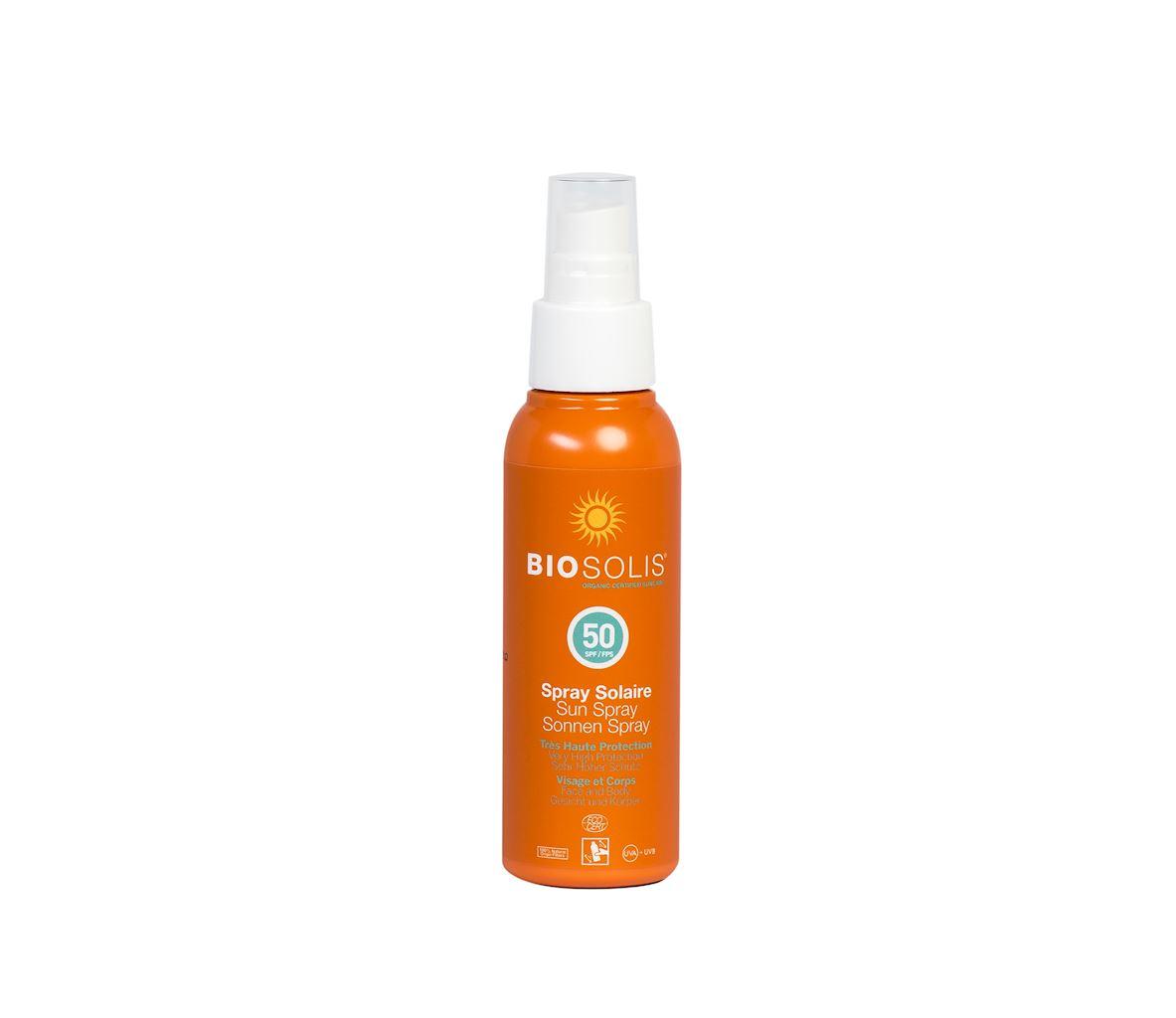 Spray przeciwsłoneczny SPF50 eco