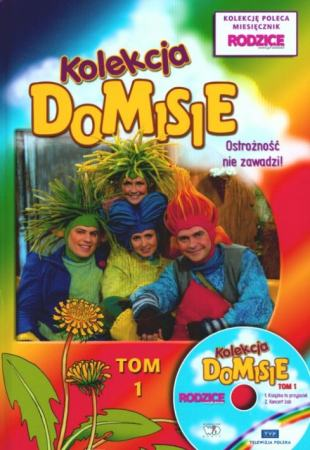 Ostrożność nie zawadzi! Kolekcja Domisie. Tom 1 + VCD