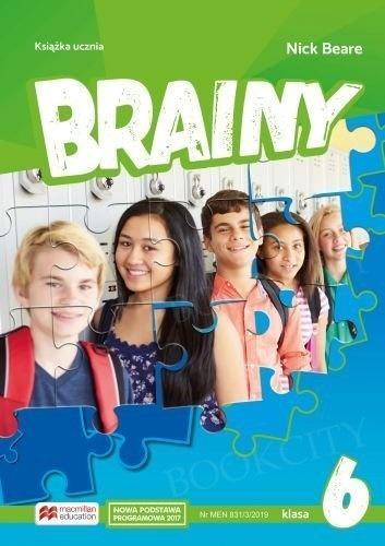 Brainy. Klasa 6. Książka ucznia. Język angielski. Szkoła podstawowa