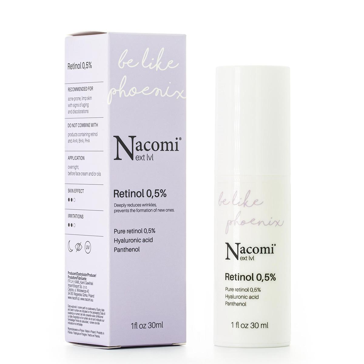 Next level Serum do twarzy na noc Retinol 0,5%