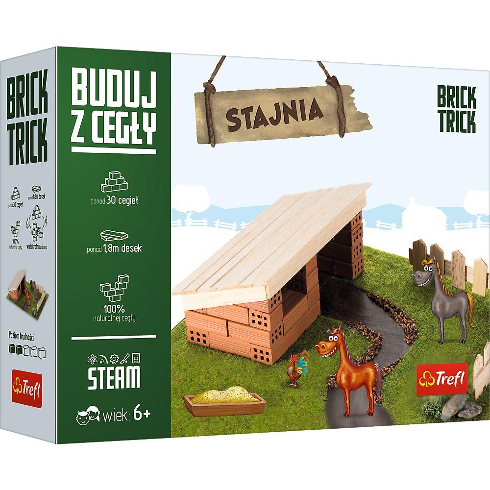 Brick Trick. Buduj z cegły. Stajnia S