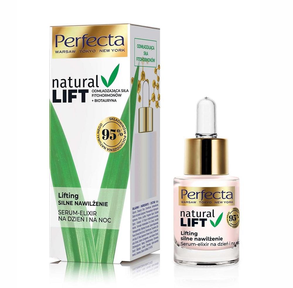 Natural Lift serum nawilżające na dzień i noc