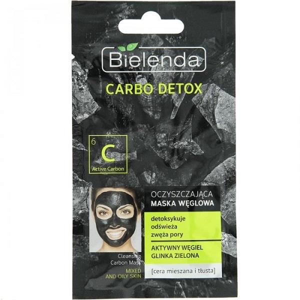 Carbo Detox oczyszczająca maska węglowa dla cery mieszanej i tłustej