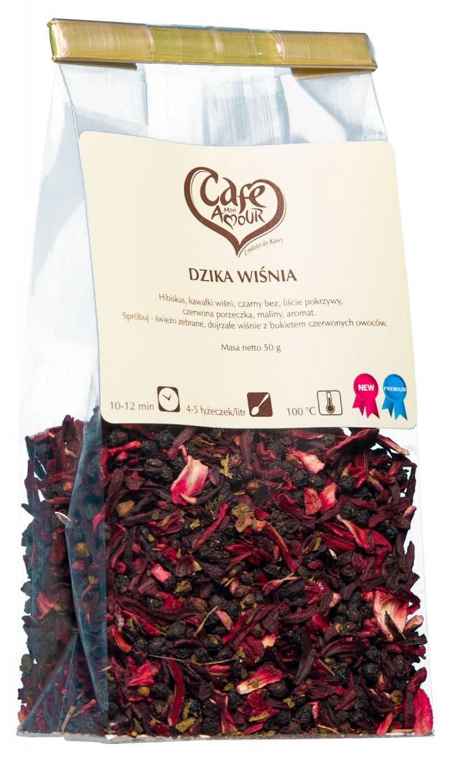 Herbata liściasta Dzika Wiśnia