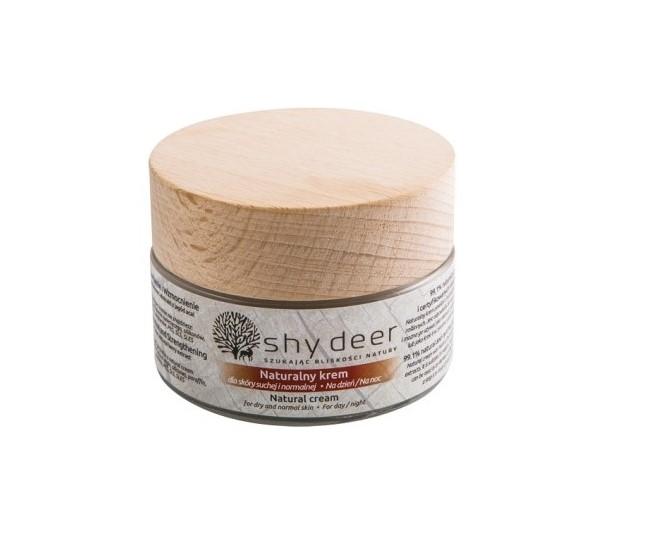Natural Cream naturalny krem dla skóry suchej i normalnej