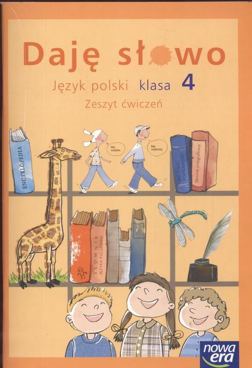 J.polski kl.4 ćw.daję słowo/4203/