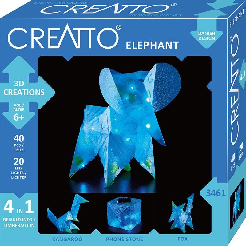 Creatto - Świecący Słoń i Przyjaciele PIATNIK
