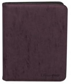 Pro-Binder - Zippered Suede 9 Pocket Premium - Amethyst