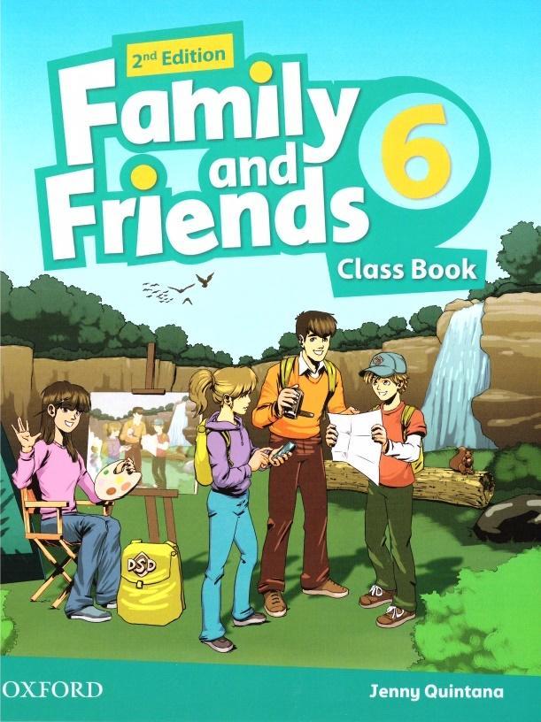 Family and Friends 2E 6 CB OXFORD