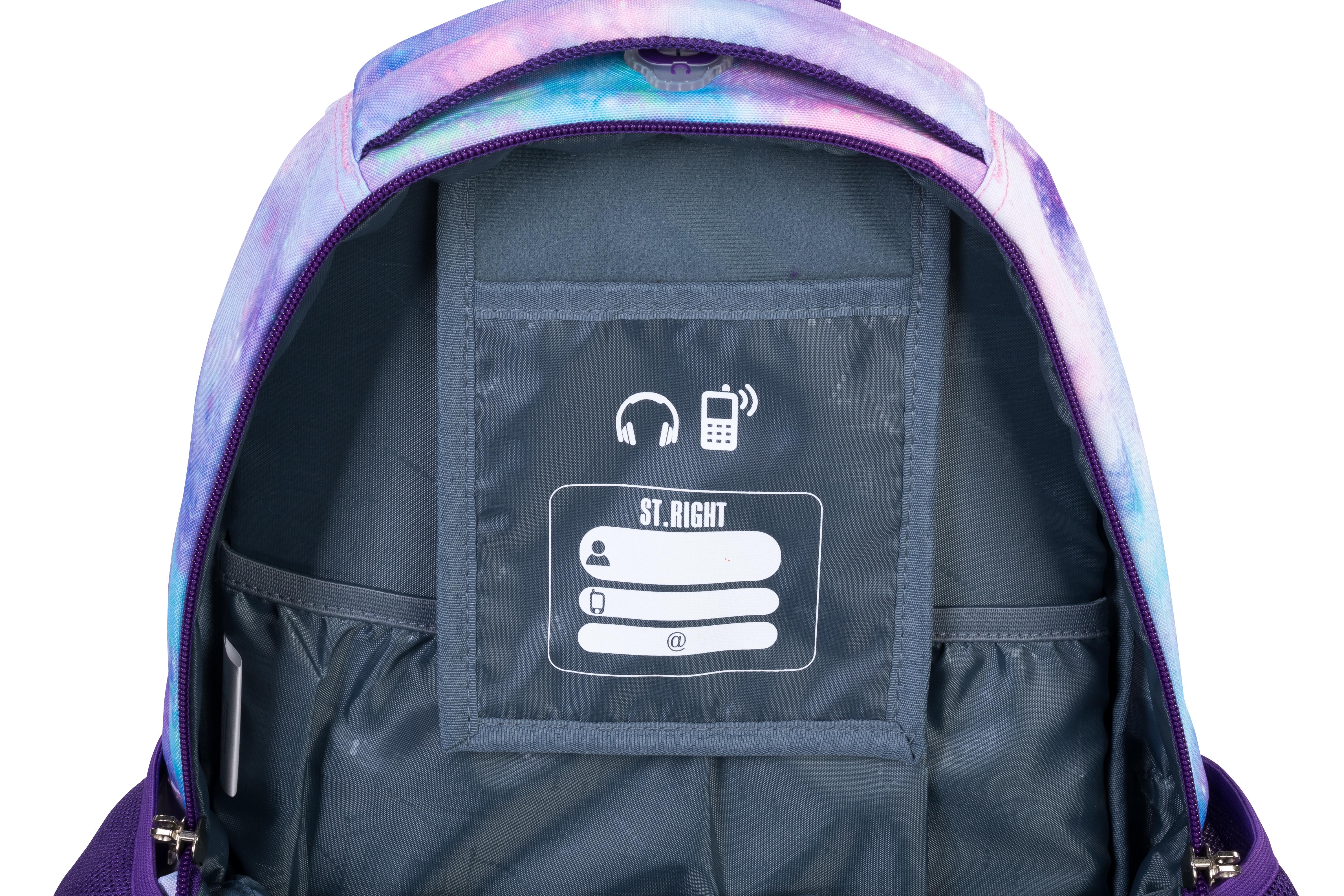 Plecak 4-komorowy BP58 Sky Unicorn/Podniebny Jednorożec