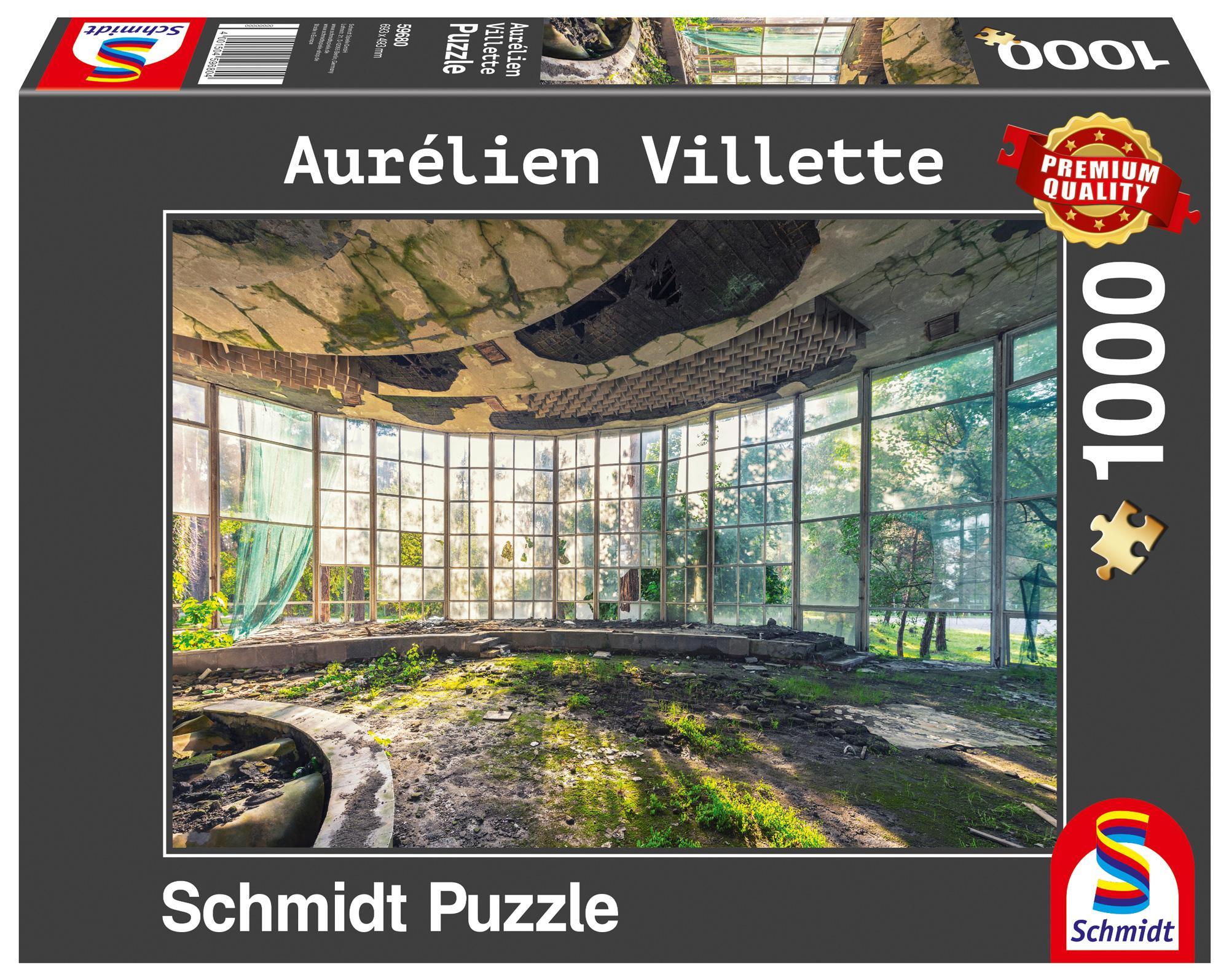 Puzzle 1000 el. Aurelien V. Kawiarnia w Abchazji