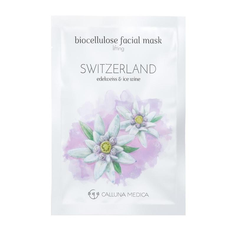 Switzerland Lifting Biocellulose Facial Mask liftingująca maseczka z biocelulozy Edelweiss & Ice Wine