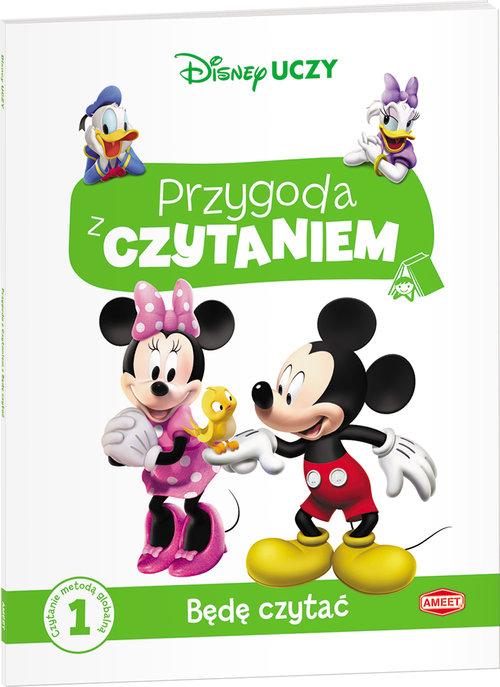 Disney Uczy. Miki. Przygoda z czytaniem. Będę czytać