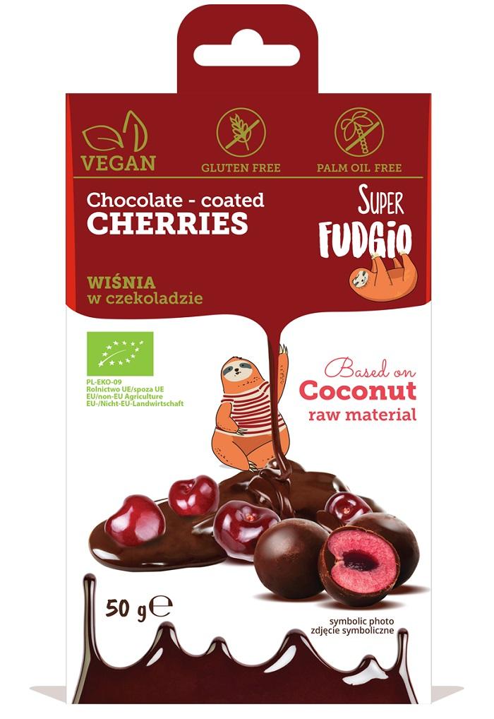 Wiśnia liofilizowana w czekoladzie