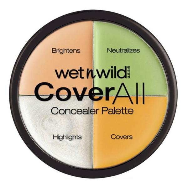 WET N WILD_Cover All Concealer Palette paleta korektorów do twarzy