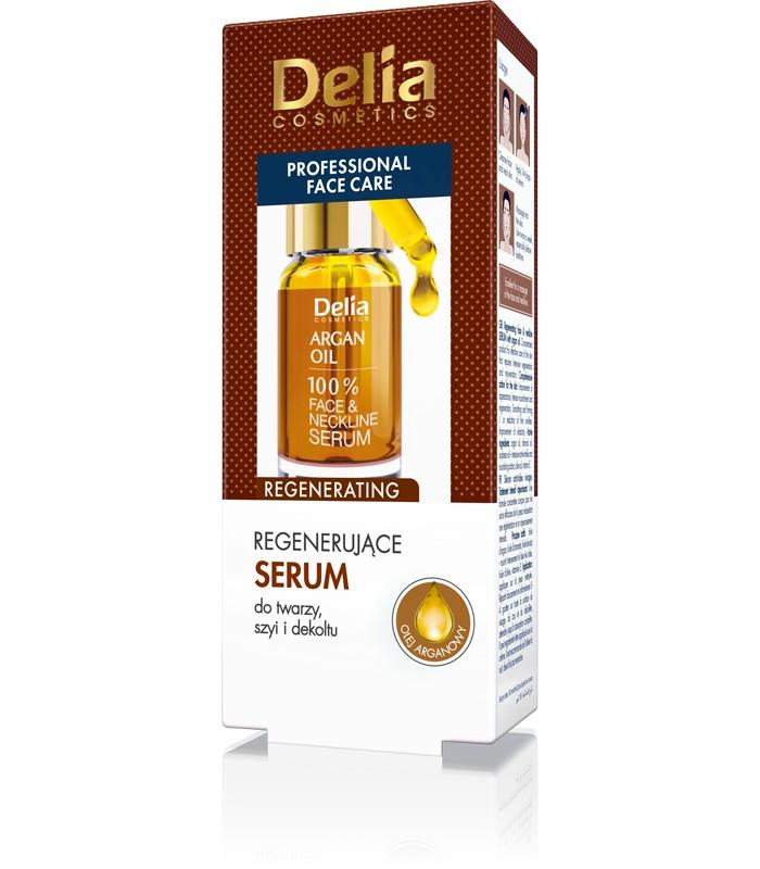 Regenerujące serum do twarzy szyi i dekoldu