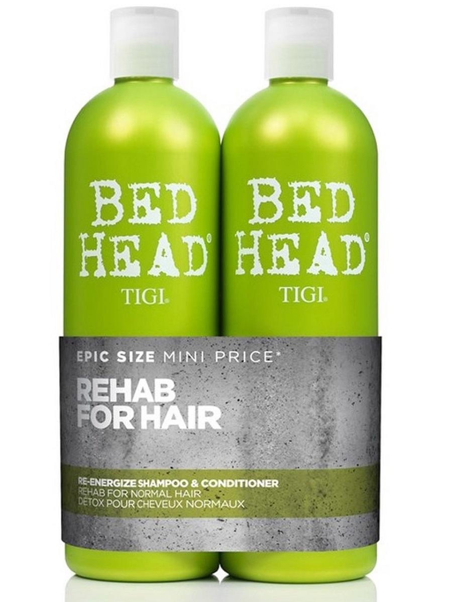 Zestaw dla kobiet: Odżywka + energizujący szampon do włosów normalnych