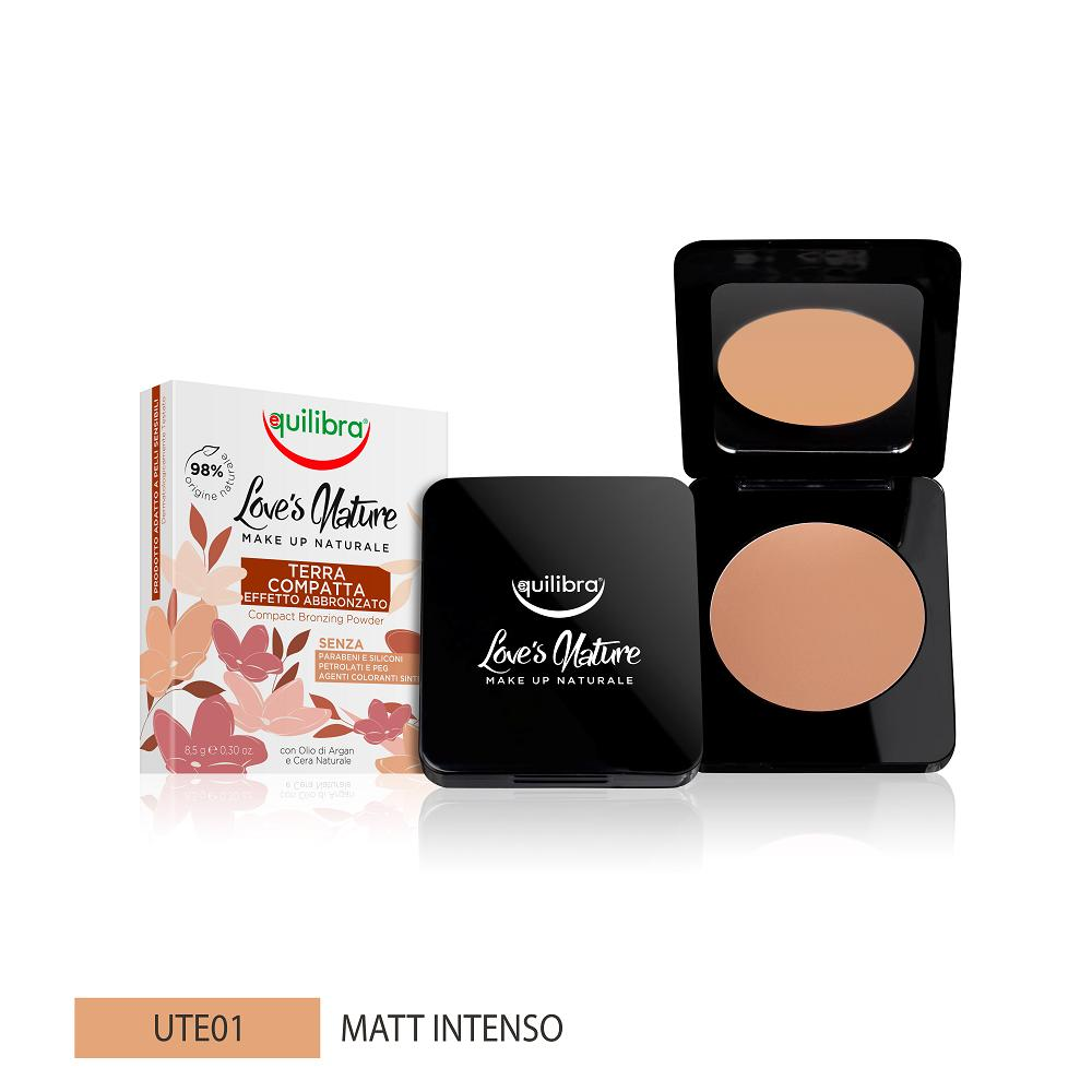 Love's Nature Compact Bronzing Powder puder brązujący Intense Matte