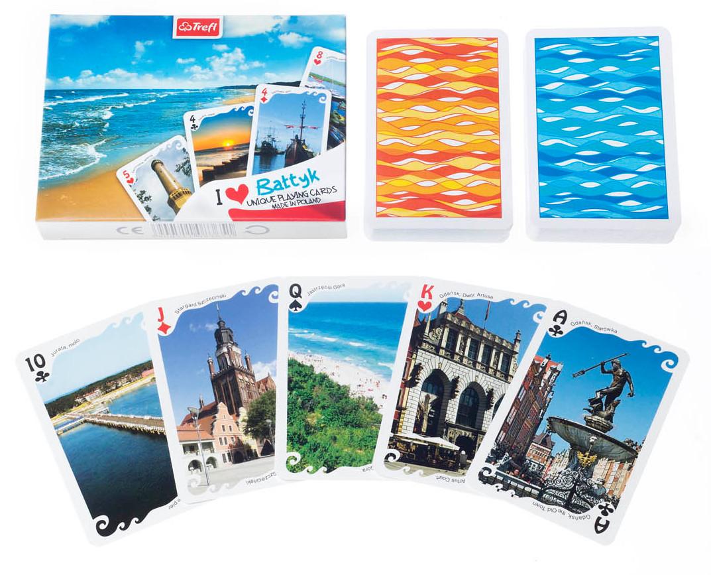 Karty I love Bałtyk - 2 x 55 listków