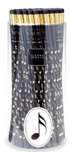 Ołówek czarny - nuty