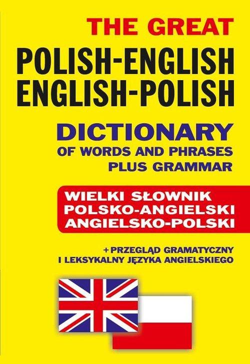 Wielki słownik polsko-angielski angielsko-polski