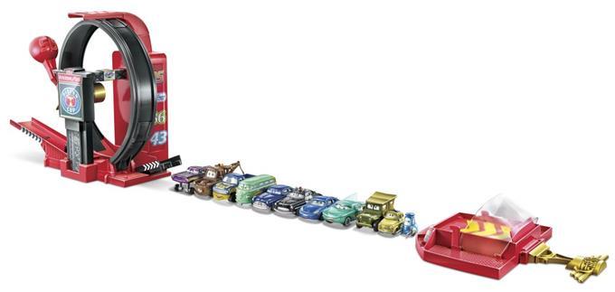 Wyczynowa superpętla Cars